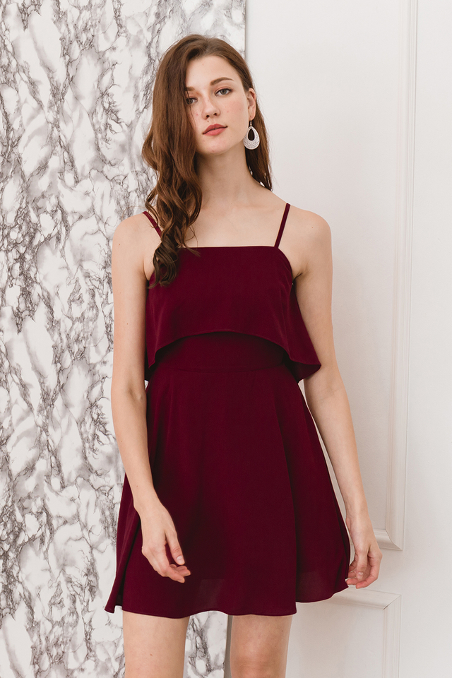 Golda Dress Wine