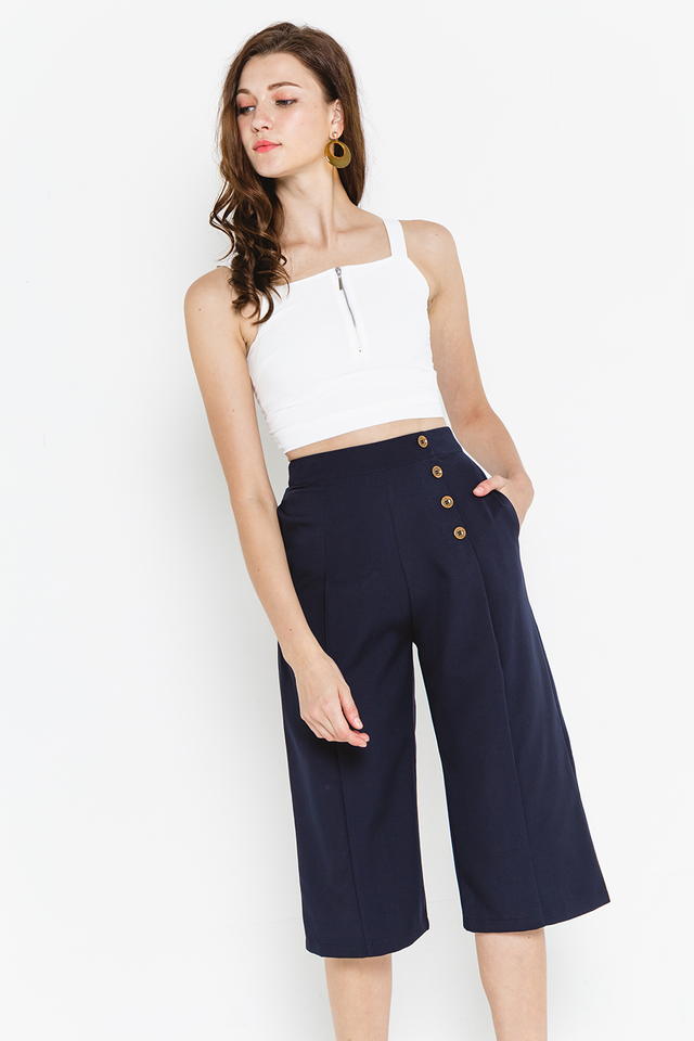 Noely Culottes Navy