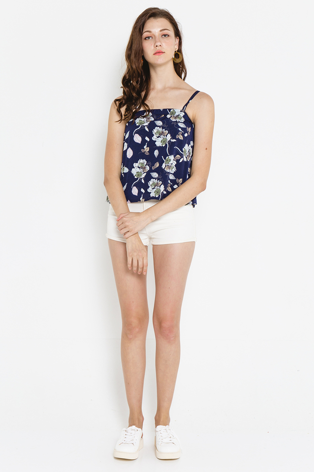 Winona Top Navy Floral