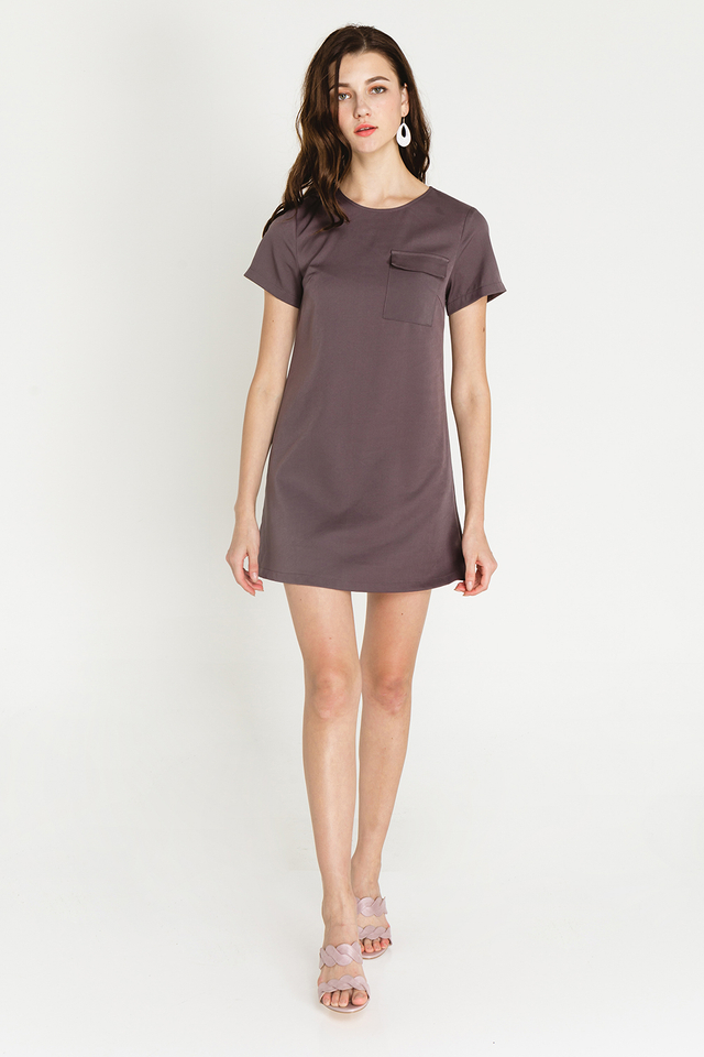 Athene Dress Grey