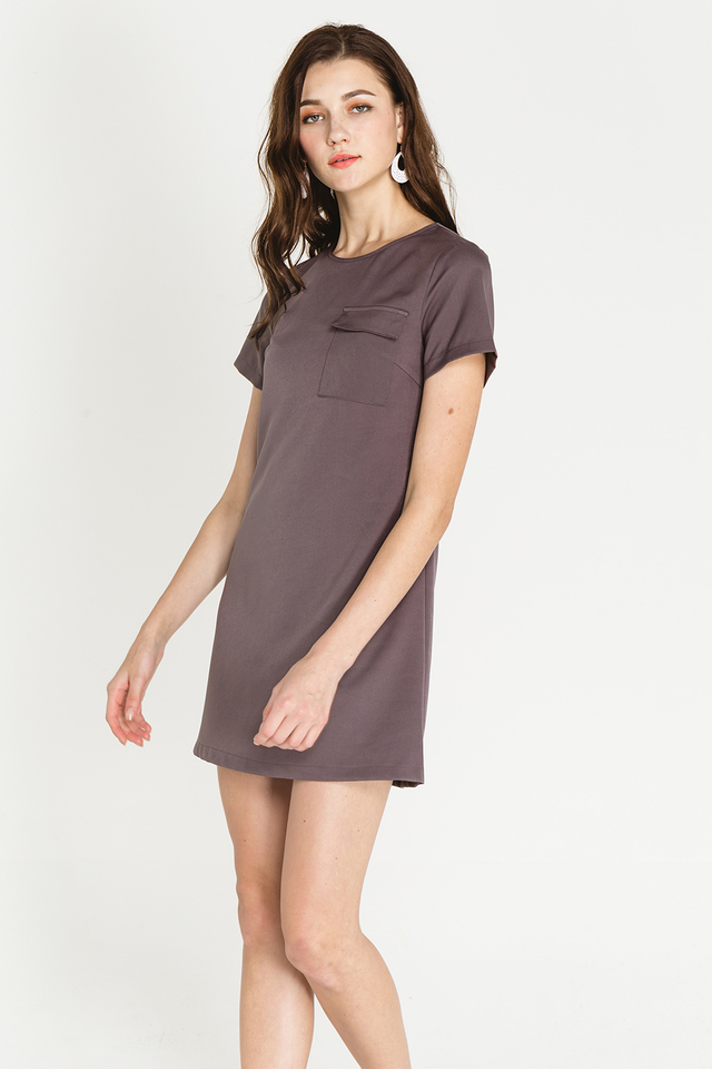 Athene Dress Grey