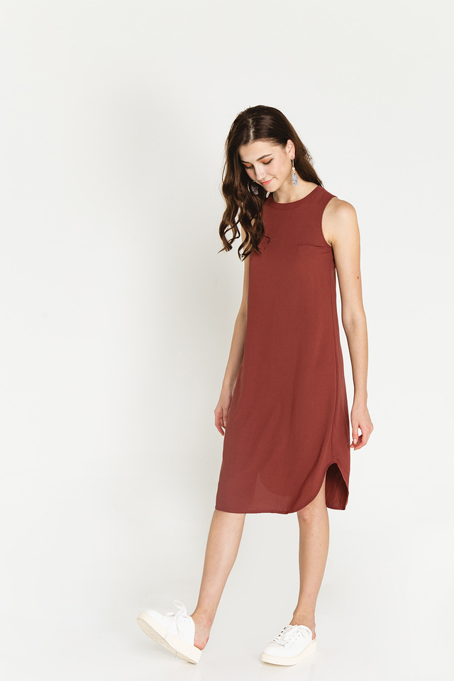 Alize Dress Terracotta