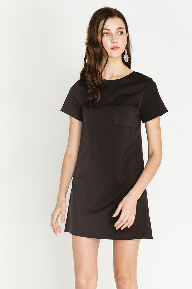 Athene Dress Black