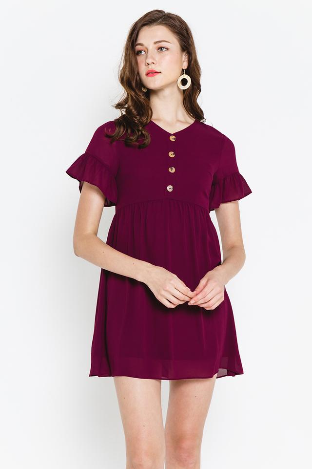 Cadence Dress Burgundy