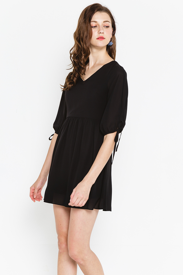 Gertrude Dress Black