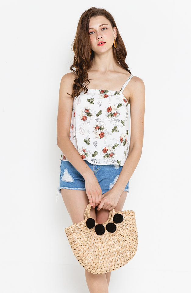 Winona Top White Floral