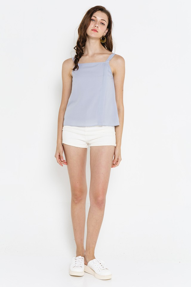 Izidora Top Grey