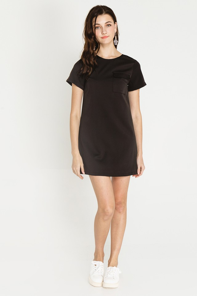 Athene Dress Black