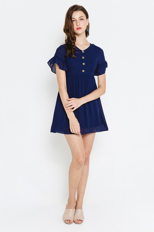 Cadence Dress Navy