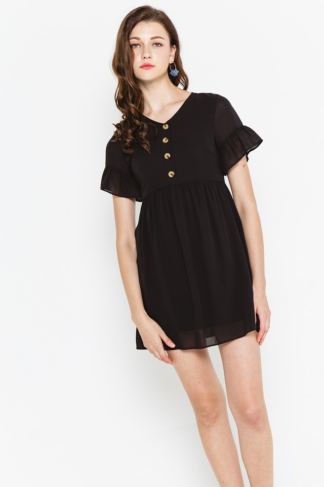 Cadence Dress Black