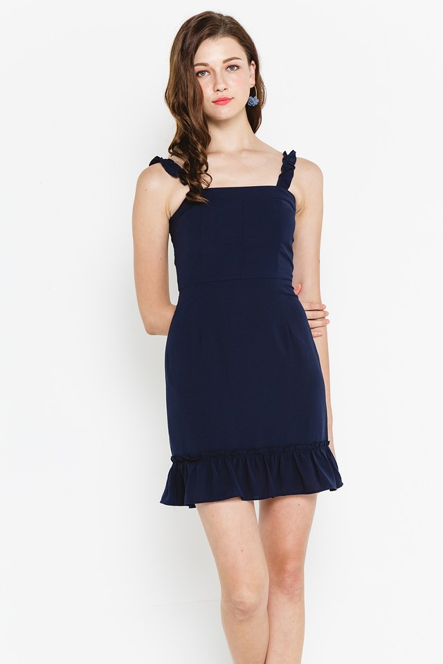 Xaviera Dress Navy