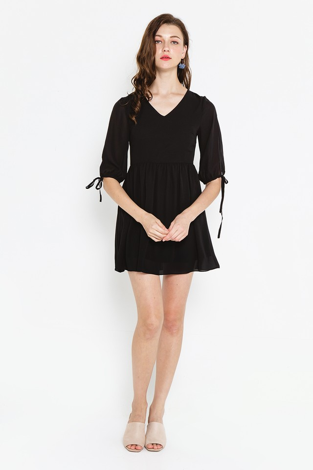Gertrude Dress Black