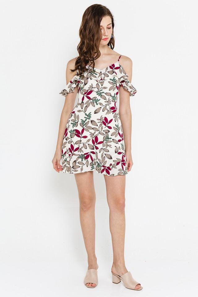 Kaori Dress Creme Floral