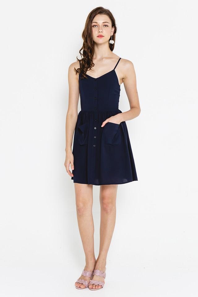 Vesper Dress Navy