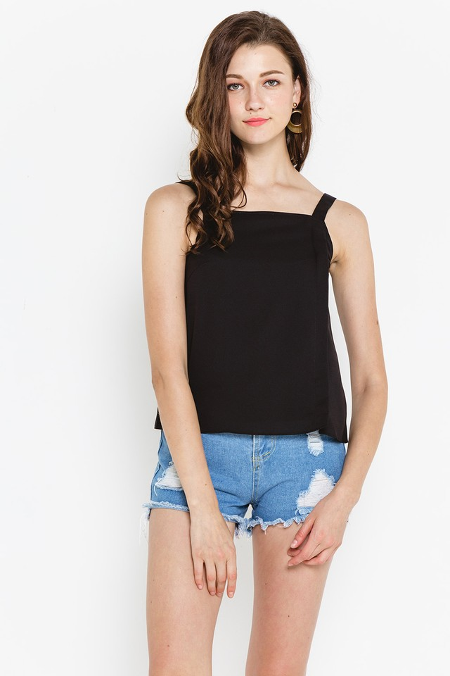 Izidora Top Black