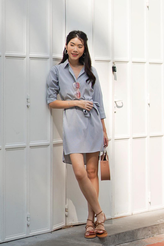 Landen Shirtdress Stripes