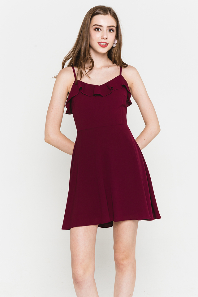 Briony Dress Wine