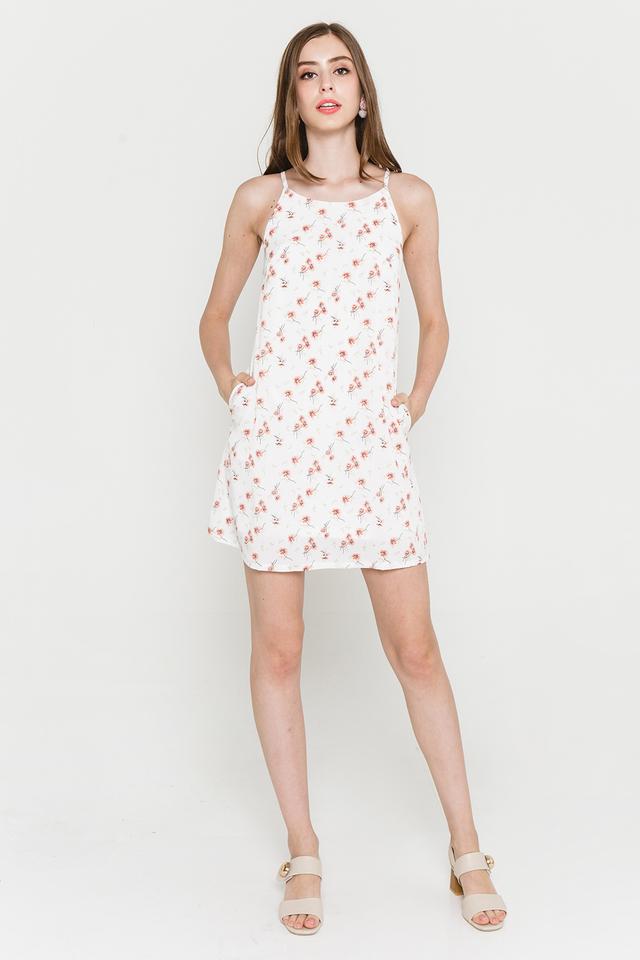 Lyndonn Dress White Floral