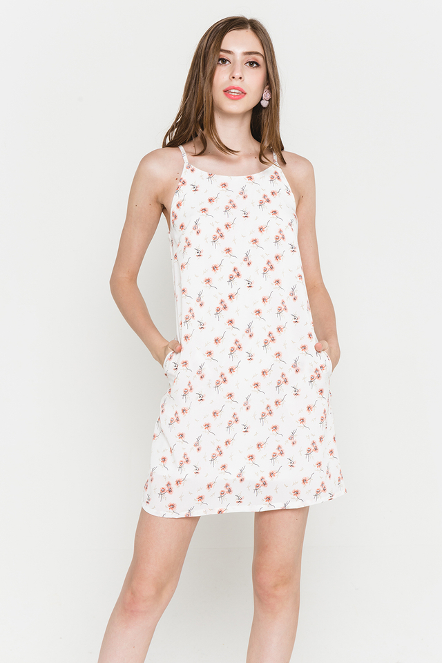 Lyndonn Dress White Floral