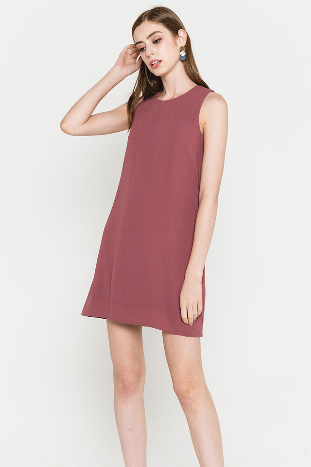 Lynne Dress Mauve