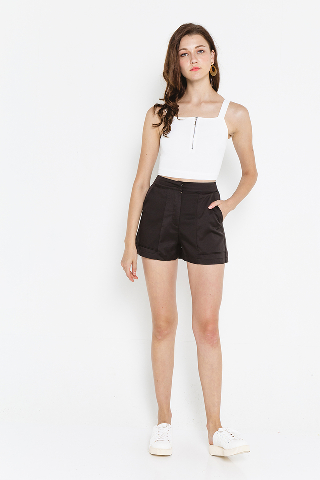 Maude Shorts Black
