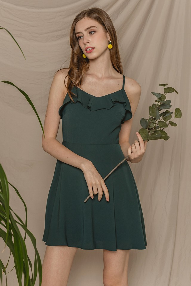 Briony Dress Forest