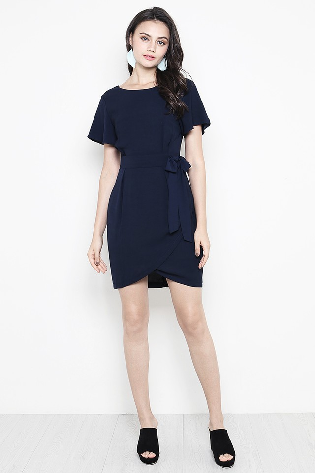 Alessa Dress Navy