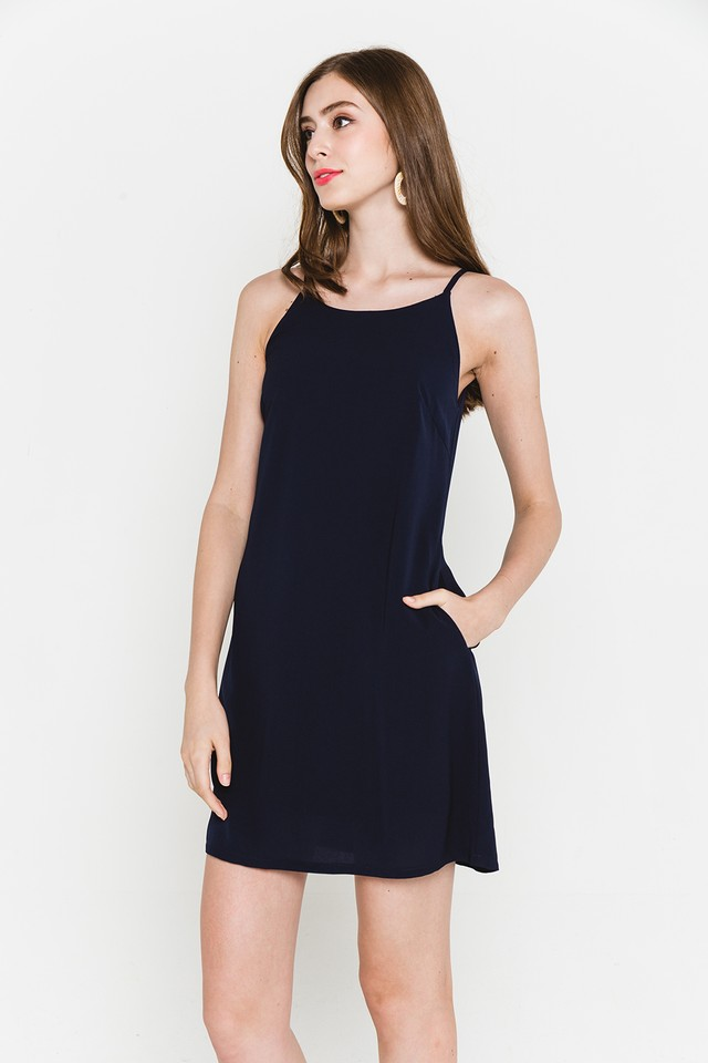 Lyndonn Dress Navy