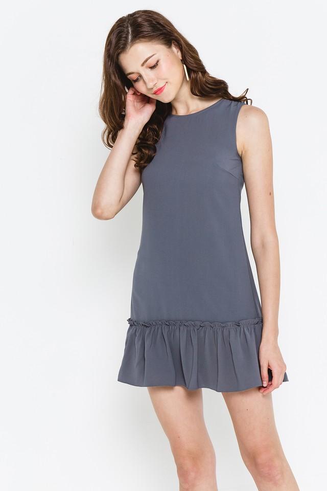 Petra Dress Slate Grey