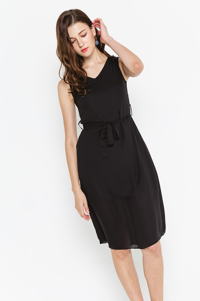 Amaya Dress Black