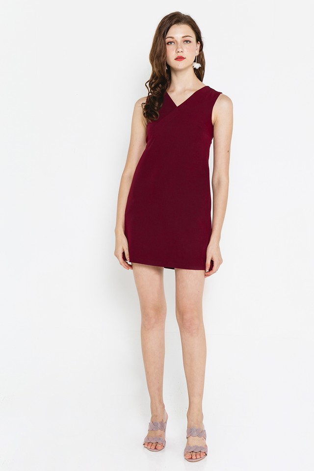 Anthea Dress Wine