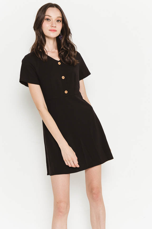 Zadie Dress Black