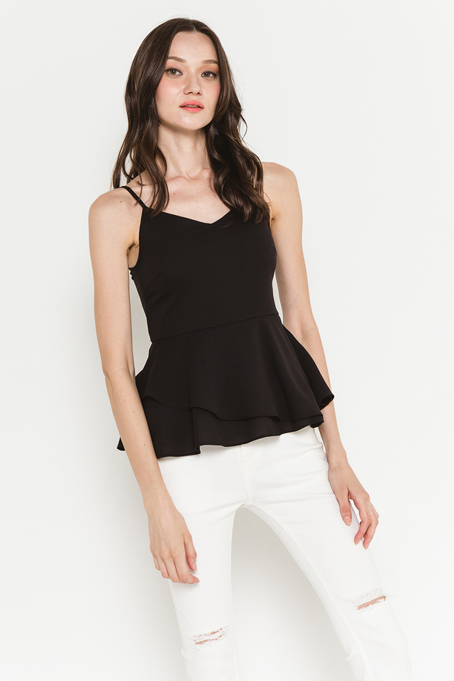 Corey Top Black