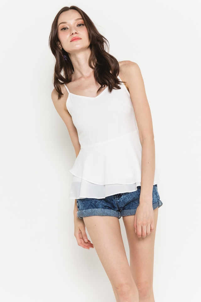 Corey Top White