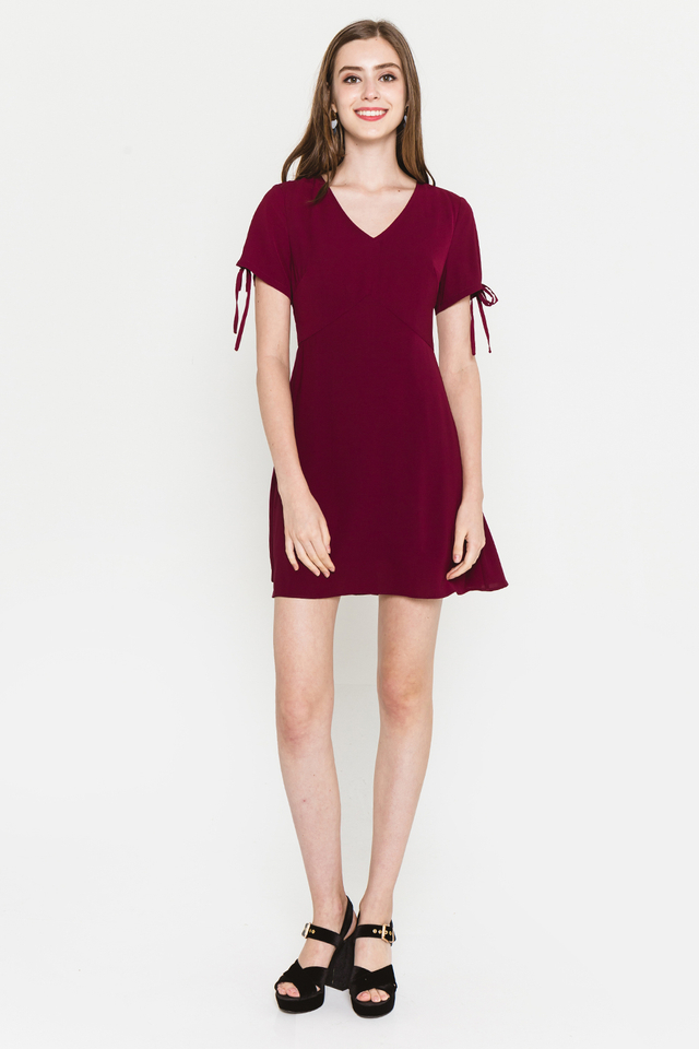Harleen Dress Wine