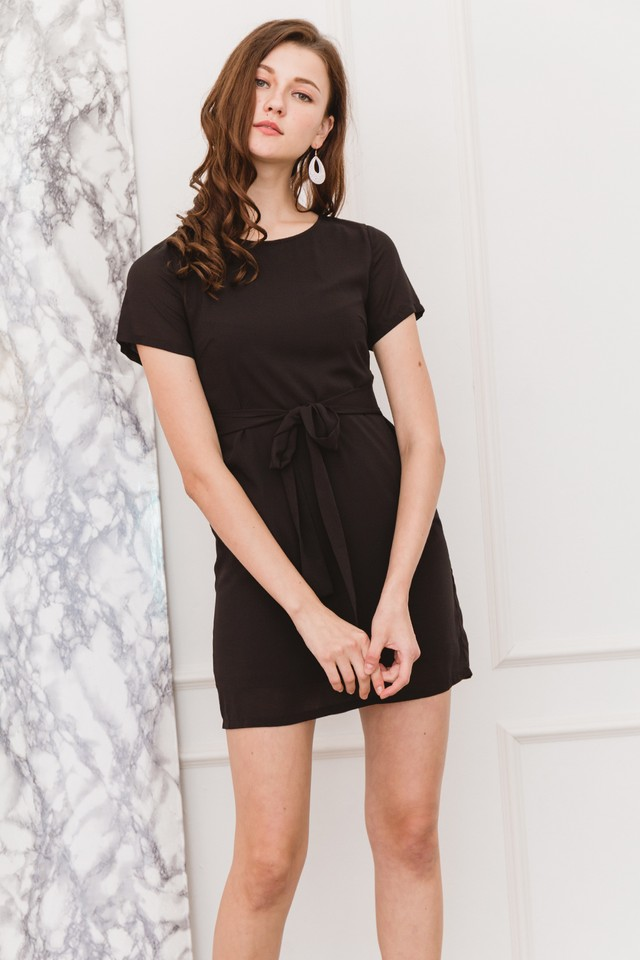 Aerona Dress Black