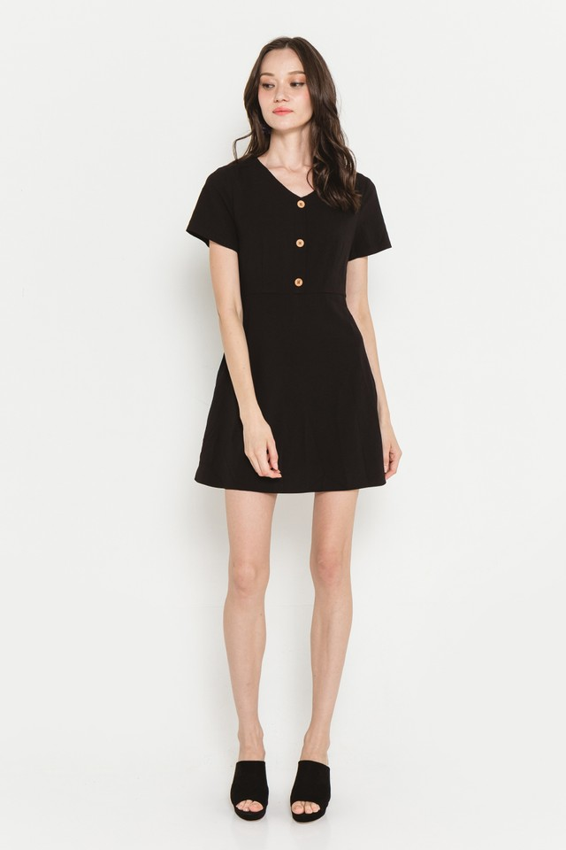 Zadie Dress Black