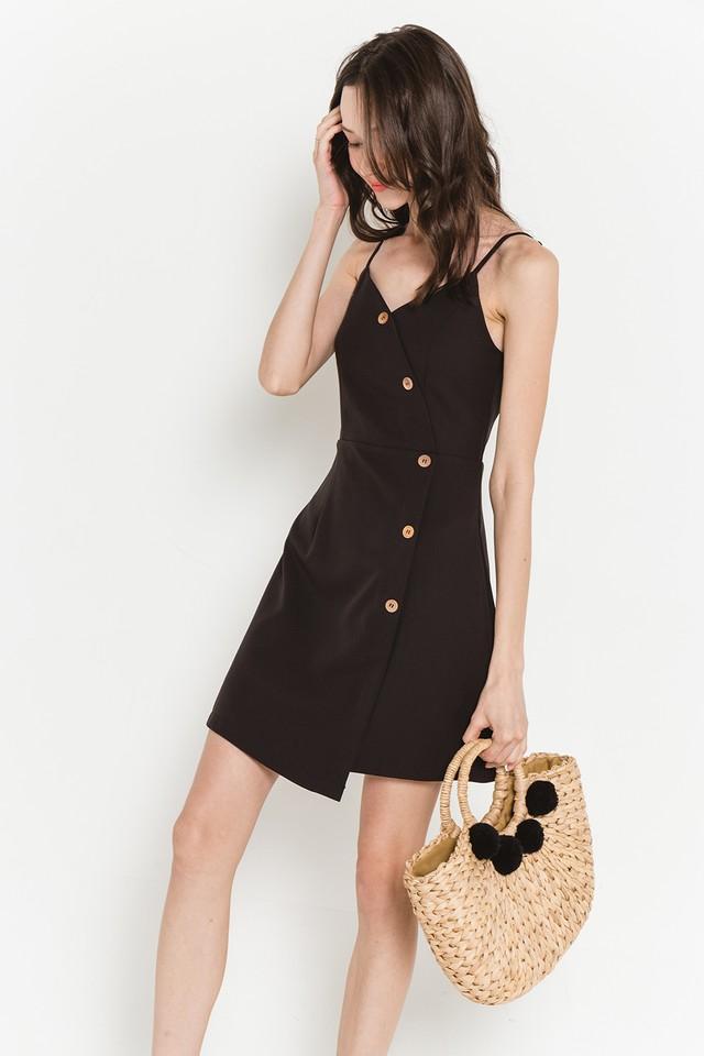 Florin Dress Black