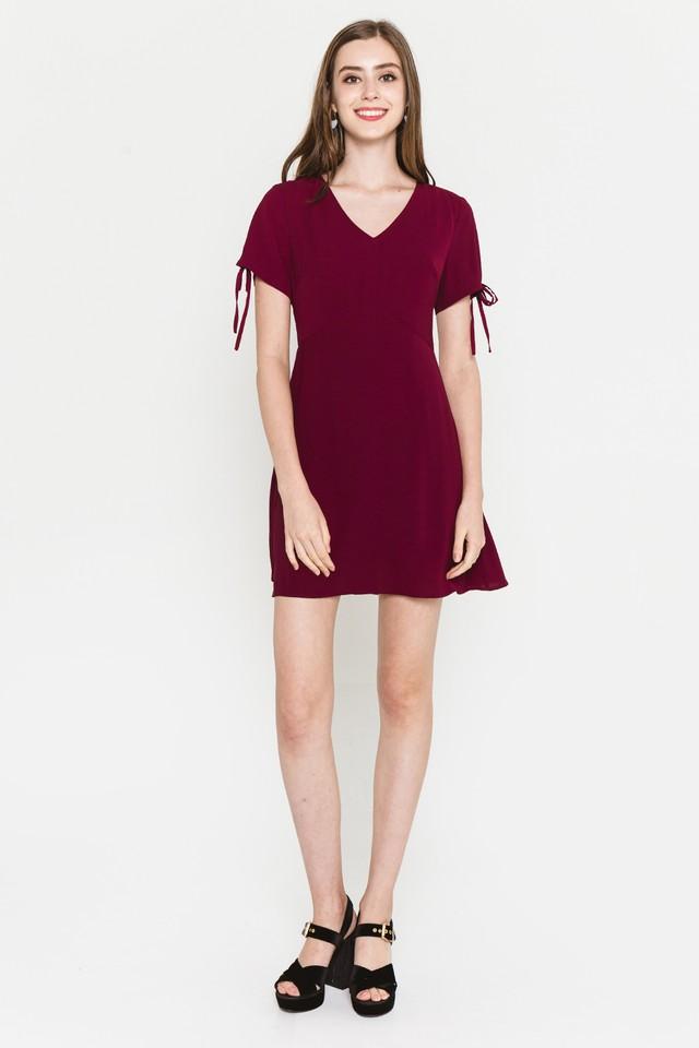 Harleen Dress Wine