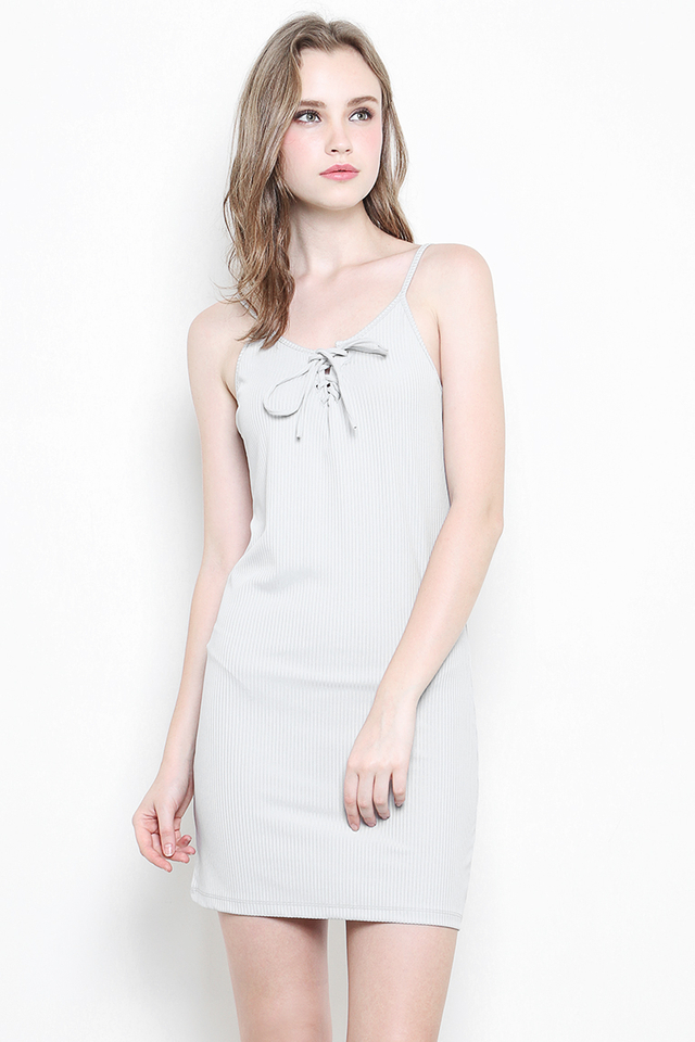 Maine Dress Grey