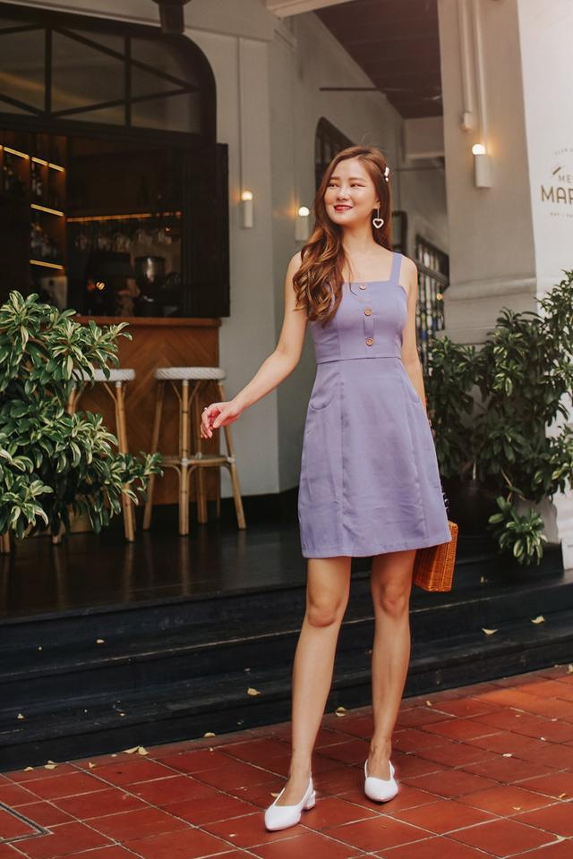 Giovana Dress Ash Lilac