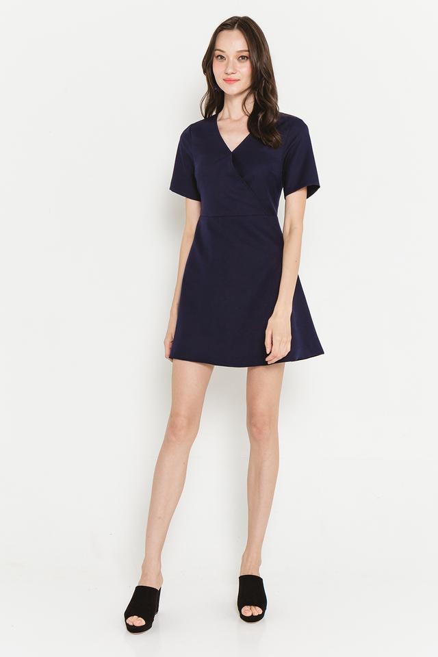 Edna Dress Navy