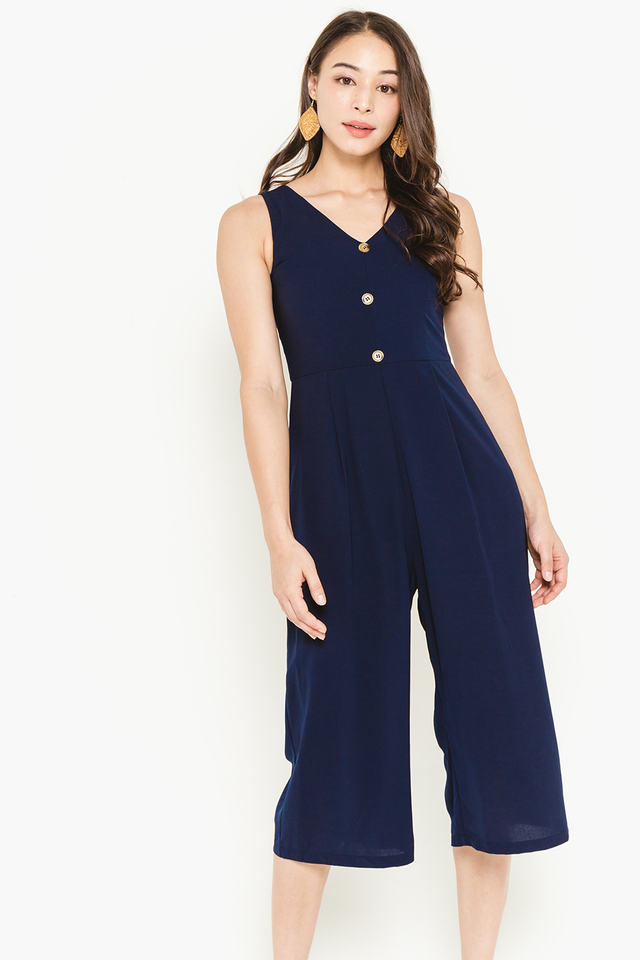 Cerys Jumpsuit Navy