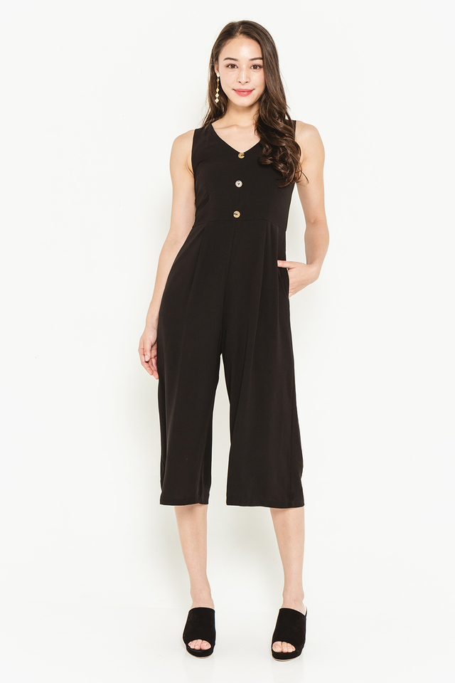 Cerys Jumpsuit Black