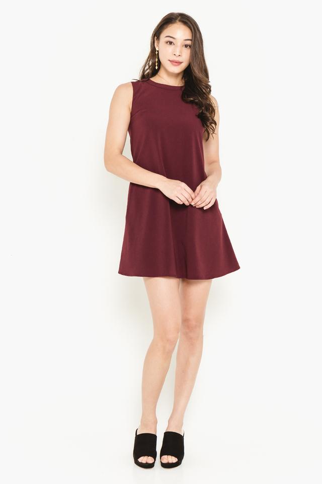Lea Dress Wine
