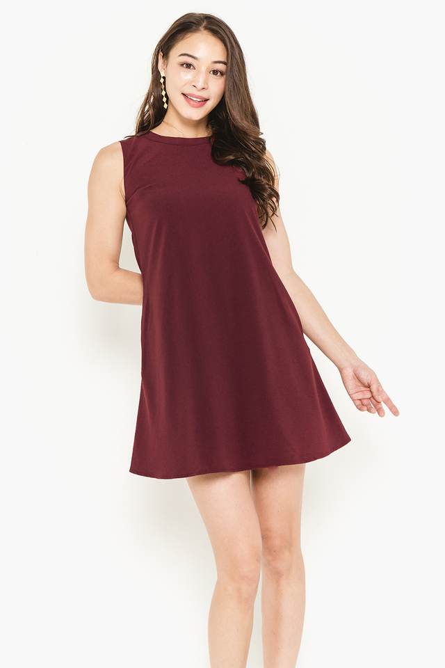 Lea Dress Wine
