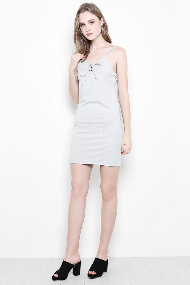 Maine Dress Grey
