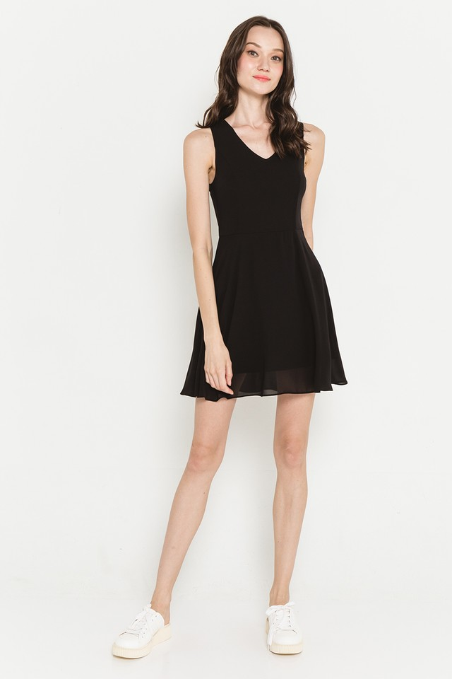 Lynda Dress Black