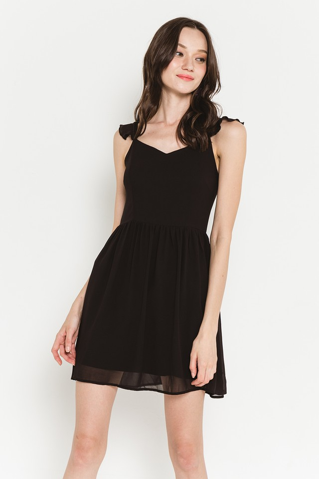 Elyssa Dress Black