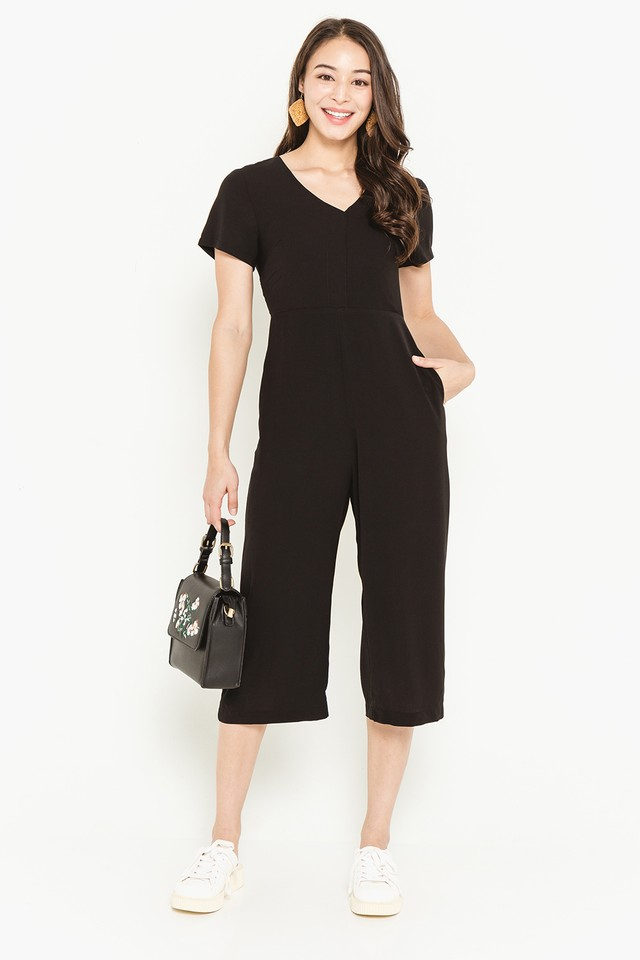 Valerie Jumpsuit Black